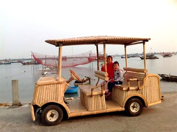 Hoi An, bamboo electric car, craftsman, bamboo bicycles, Vietnam economy, Vietnamnet bridge, English news about Vietnam, Vietnam news, news about Vietnam, English news, Vietnamnet news, latest news on Vietnam, Vietnam