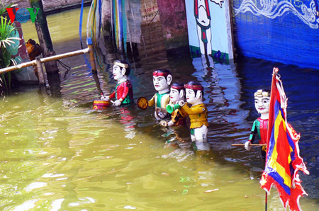 Hong Phong Water Puppetry Troupe, entertainment events, entertainment news, entertainment activities, what's on, Vietnam culture, Vietnam tradition, vn news, Vietnam beauty, news Vietnam, Vietnam news, Vietnam net news, vietnamnet news, vietnamnet bridge