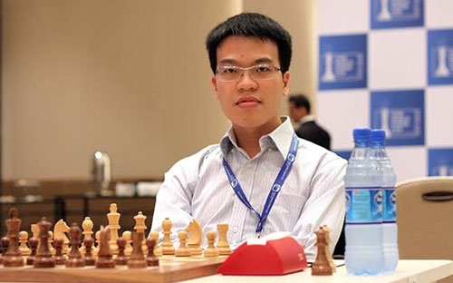 Le Quang Liem named No 34 chess player in world ranking