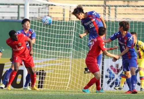 Binh Duong FC leave Champions League after a loss