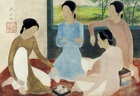Painting by Vu Cao Dam to be auctioned in France, believed to be fake, entertainment events, entertainment news, entertainment activities, what's on, Vietnam culture, Vietnam tradition, vn news, Vietnam beauty, news Vietnam, Vietnam news, Vietnam net news