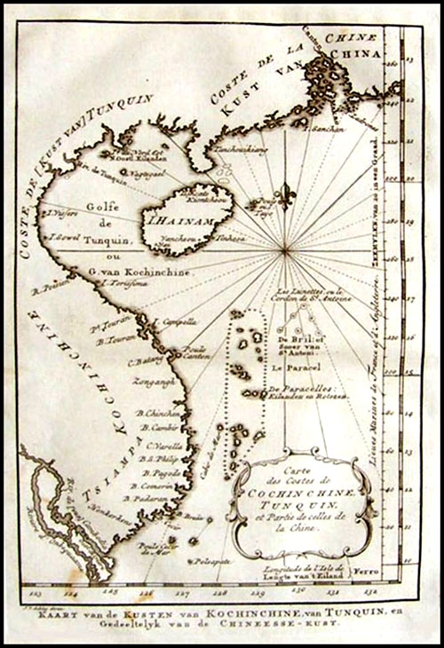 Maps showing island sovereignty displayed in US   News VietNamNet