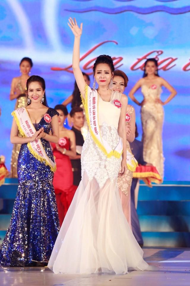 Hoa Binh province's girl named Miss Sea Vietnam 2016