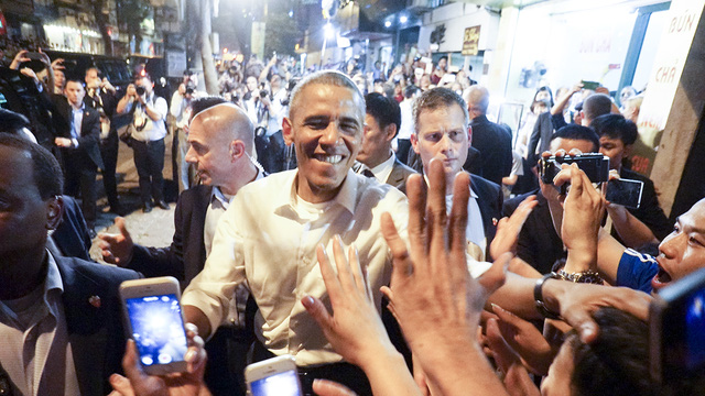 40 impressive hours of President Obama in Hanoi