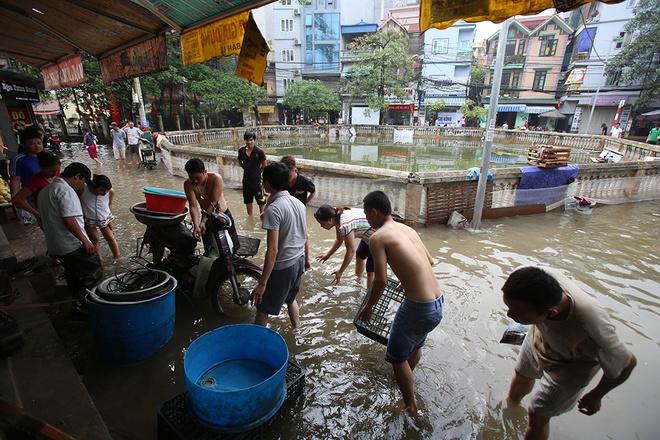 Unbelievable images after downpours in Hanoi, flood in hanoi, social news, vietnamnet bridge, english news, Vietnam news, news Vietnam, vietnamnet news, Vietnam net news, Vietnam latest news, vn news, Vietnam breaking news