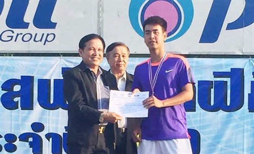 Vietnam wins gold in Thailand Tennis Open