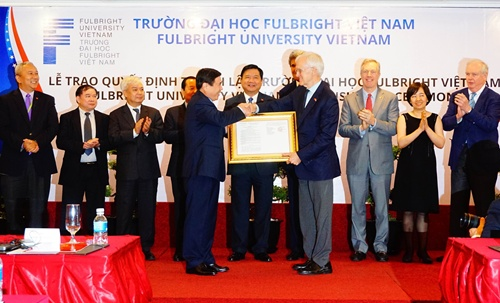 Fulbright University officially launched in Vietnam
