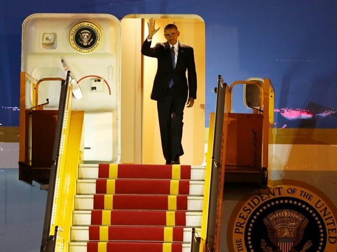 President Obama's three days in Vietnam through pictures