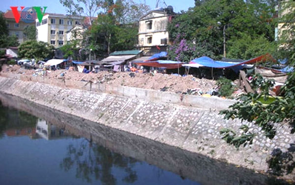 Hanoi fails to complete city drainage project