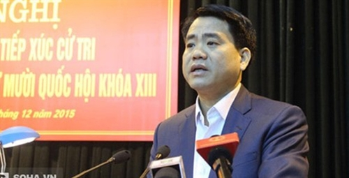 Hanoi mayor elected to municipal People's Council
