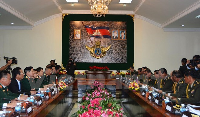 Vietnam, Cambodia beef up defence ties, Government news, politic news, vietnamnet bridge, english news, Vietnam news, news Vietnam, vietnamnet news, Vietnam net news, Vietnam latest news, vn news, Vietnam breaking news