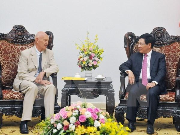 Special envoy of Swedish PM welcomed in Hanoi, Government news, politic news, vietnamnet bridge, english news, Vietnam news, news Vietnam, vietnamnet news, Vietnam net news, Vietnam latest news, vn news, Vietnam breaking news
