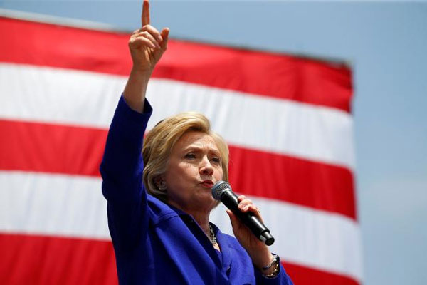 Clinton clinches Democratic presidential nomination: AP and NBC