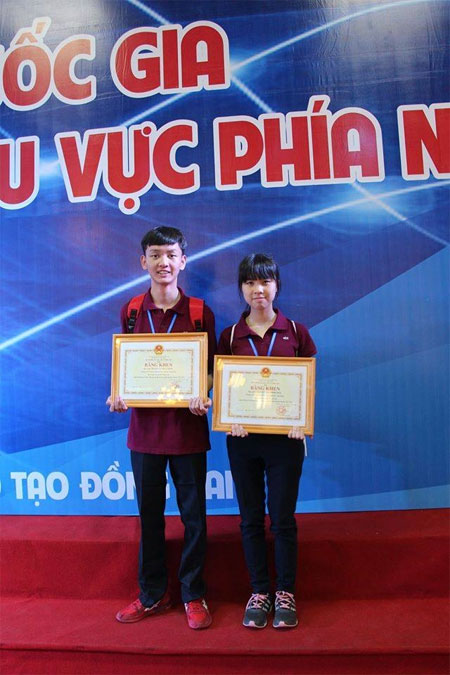 VN students win int'l award for cancer study