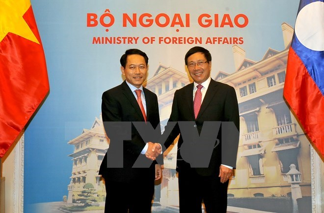 Vietnamese, Lao Foreign Ministers vow to reinforce ties, Government news, politic news, vietnamnet bridge, english news, Vietnam news, news Vietnam, vietnamnet news, Vietnam net news, Vietnam latest news, vn news, Vietnam breaking news