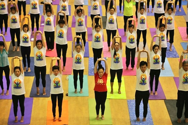 Vietnam's major cities to celebrate International Yoga Day