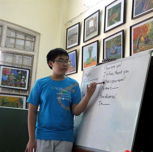 English class, disadvantaged children, vocational training, Vietnam economy, Vietnamnet bridge, English news about Vietnam, Vietnam news, news about Vietnam, English news, Vietnamnet news, latest news on Vietnam, Vietnam