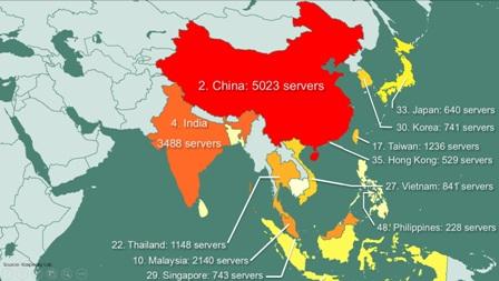 841 servers in Vietnam hacked to be sold: Kaspersky