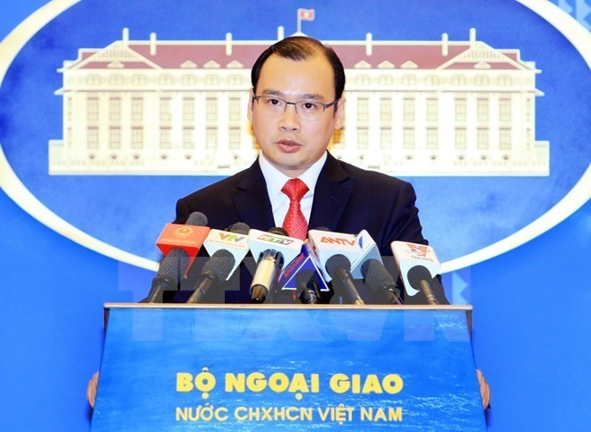 China's illegal activities in East Sea must be ended: FM spokesman, Government news, politic news, vietnamnet bridge, english news, Vietnam news, news Vietnam, vietnamnet news, Vietnam net news, Vietnam latest news, vn news, Vietnam breaking news