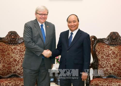 Vietnam fosters multilateral ties with Australia