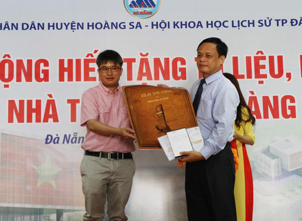 Da Nang receives evidences for Vietnam's sovereignty over Paracel Island, Government news, politic news, vietnamnet bridge, english news, Vietnam news, news Vietnam, vietnamnet news, Vietnam net news, Vietnam latest news, vn news, Vietnam breaking news