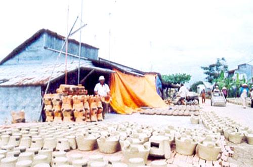 Kien Luong (Kien Giang) Vietnam  city photos gallery : Dau Doi, a traditional ceramic village in Hon Dat News VietNamNet