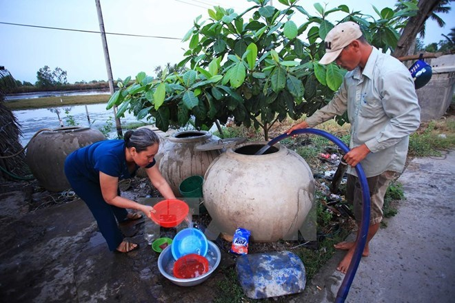 Mekong Delta seeks solutions to saltwater intrusion, environmental news, sci-tech news, vietnamnet bridge, english news, Vietnam news, news Vietnam, vietnamnet news, Vietnam net news, Vietnam latest news, Vietnam breaking news, vn news