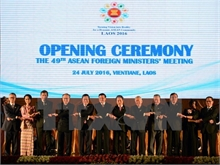 ASEAN foreign ministers deeply concerned over East Sea issue