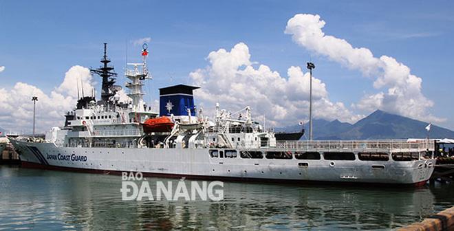 Japan Coast Guard vessel starts Da Nang visit