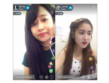 Live streaming: the race for market share in Vietnam - News VietNamNet