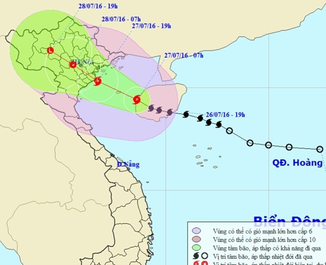 7-9 storms and tropical depressions to hit East Sea this year, social news, vietnamnet bridge, english news, Vietnam news, news Vietnam, vietnamnet news, Vietnam net news, Vietnam latest news, vn news, Vietnam breaking news