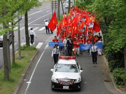 OVs in Japan calls on China to respect PCA's ruling, Government news, Vietnam breaking news, politic news, vietnamnet bridge, english news, Vietnam news, news Vietnam, vietnamnet news, Vietnam net news, Vietnam latest news, vn news
