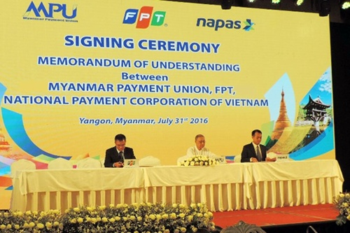 FPT to help build payment system for Myanmar, IT news, sci-tech news, vietnamnet bridge, english news, Vietnam news, news Vietnam, vietnamnet news, Vietnam net news, Vietnam latest news, Vietnam breaking news, vn news