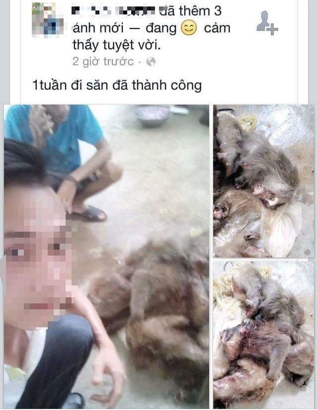 Monkey killer found thanks to Facebook, social news, vietnamnet bridge, english news, Vietnam news, news Vietnam, vietnamnet news, Vietnam net news, Vietnam latest news, vn news, Vietnam breaking news
