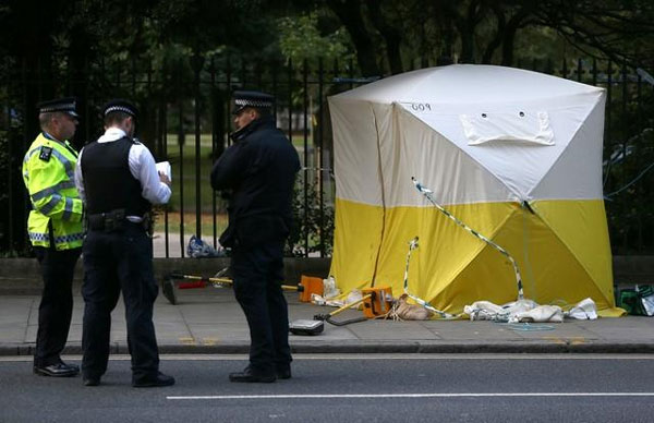 U.S. woman killed in London knife attack, no evidence of terrorism link