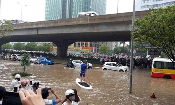 Anti-flood plan floated in Hanoi - News VietNamNet