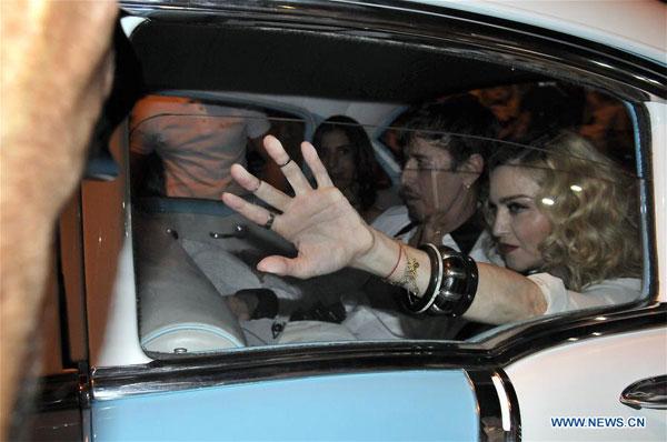 Pop star Madonna, celebrates birthday, Havana, Africa