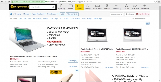 Mobile World becomes authorized Macbook reseller