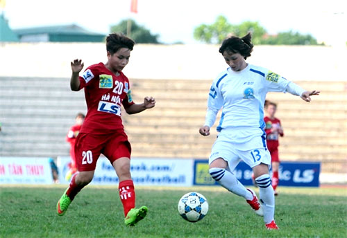 Women's football: Ha Noi 2 beat Son La