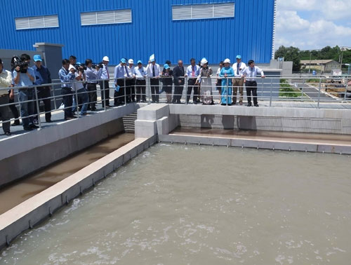 HCM City reduces tap water leakage
