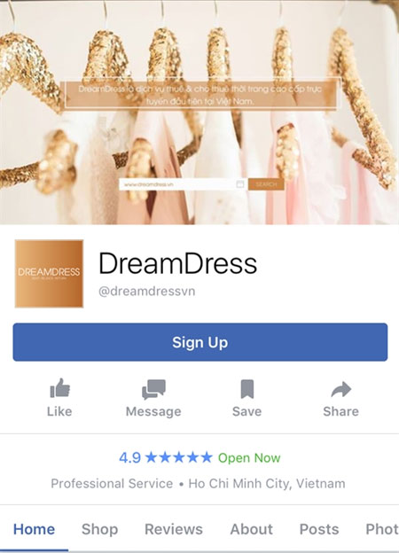 Clothes rental online