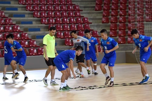 Vietnam aim at one point in clash with Italy in Futsal WC, Sports news, football, Vietnam sports, vietnamnet bridge, english news, Vietnam news, news Vietnam, vietnamnet news, Vietnam net news, Vietnam latest news, vn news, Vietnam,