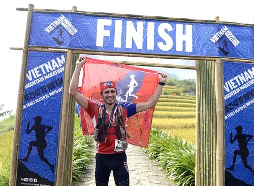 Czech runner wins 100km event at Vietnam Mountain Marathon