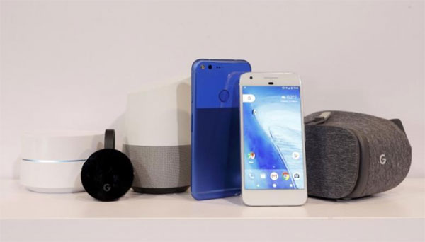 Google takes on Apple, Amazon with new hardware push