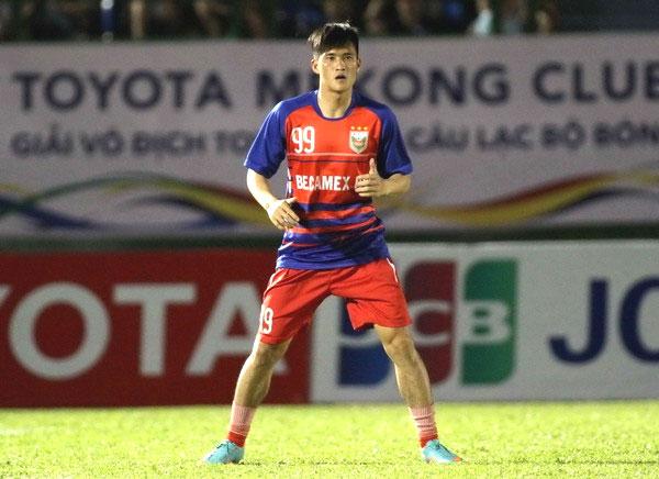 Top striker Le Cong Vinh bids goodbye to Binh Duong