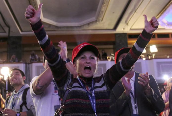 Trump edges closer to White House win, rattles world markets