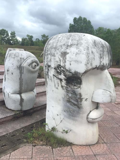 Public sculptures vandalised in Hue, entertainment events, entertainment news, entertainment activities, what's on, Vietnam culture, Vietnam tradition, vn news, Vietnam beauty, news Vietnam, Vietnam news, Vietnam net news, vietnamnet news, vietnamnet brid