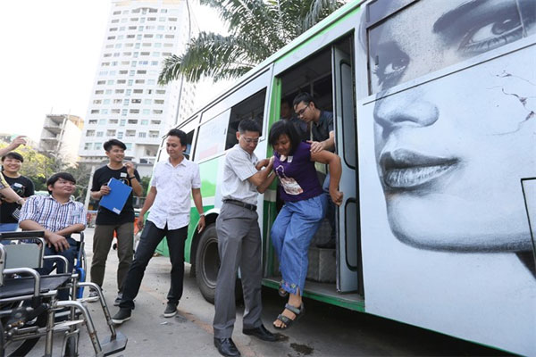 HCM City to improve bus access for disabled