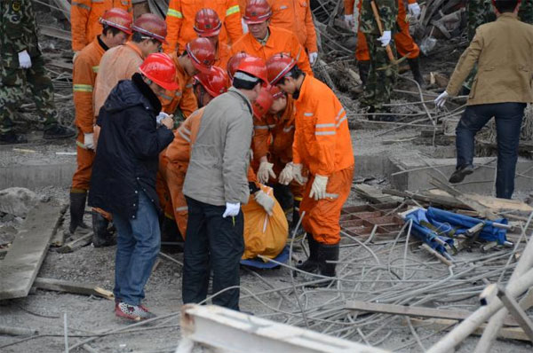 Death toll in China power plant accident climbs to 74