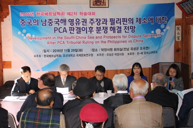 Seminar on East Sea held in RoK, Government news, Vietnam breaking news, politic news, vietnamnet bridge, english news, Vietnam news, news Vietnam, vietnamnet news, Vietnam net news, Vietnam latest news, vn news